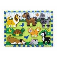 Melissa & Doug - Puzzle In Relief Animale De Companie
