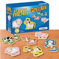 Beleduc - Puzzle lemn Animale Prietenoase