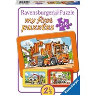 Ravensburger - Puzzle Masini, 3x6 piese