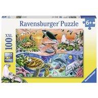Ravensburger - Puzzle Minunatul ocean, 100 piese