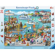 Ravensburger - Puzzle O zi in port, 24 piese