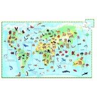 Djeco - Puzzle observatie Animalele lumii