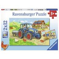 Ravensburger - Puzzle Santier, 2x12 piese
