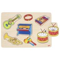 Goki - Puzzle sonor Instrumente muzicale Puzzle Copii, piese5