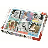 Trefl - Puzzle personaje Marilyn Monroe , Puzzle Adulti, piese 1000, Multicolor
