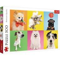 Trefl - Puzzle animale Catelusi , Puzzle Copii, piese 500, Multicolor