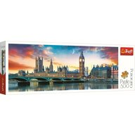 Trefl - Puzzle peisaje Big Ben , Puzzle Copii , Panorama, piese 500