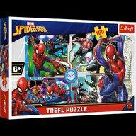 Trefl - Puzzle personaje Marvel Spider Man - Salvatorul Puzzle Copii, piese 160