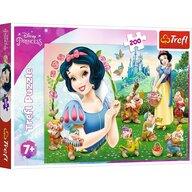 Trefl - Puzzle personaje Frumoasa Alba ca zapada , Puzzle Copii, piese 200