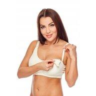 Qmini - Sutien pentru alaptat Aneta, L/XL, White