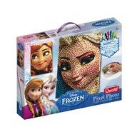 Quercetti - Joc creativ Pixel Art tablou Frozen Elsa sau Anna, 6600 piese