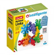 Quercetti - Set creativ Colier Animal Links, 18 piese