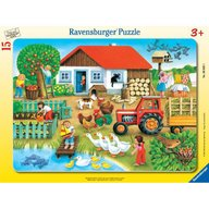Ravensburger - Puzzle Unde sa il asez, 15 piese