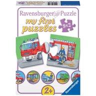Ravensburger - Puzzle Vehicule motorizate, 9x2 piese