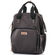 Chipolino - Rucsac si gentuta de infasat Brown leather