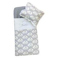Deseda - Sac de dormit buzunar Personalizat  de iarna +10 ani  Norisori gri