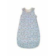 KidsDecor - Sac de dormit fara maneci Baby bear 85 cm din Bumbac, 85x34 cm, 6-12 luni, Tog 1.0, Albastru