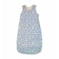 KidsDecor - Sac de dormit fara maneci Baby bear 130 cm din Bumbac, 130x42 cm, 3-5 ani, Tog 0.5, Albastru