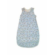 KidsDecor - Sac de dormit fara maneci Baby bear 85 cm din Bumbac, 85x34 cm, 6-12 luni, Tog 0.5, Albastru