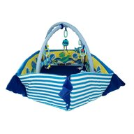 Baby Mix - Salteluta interactiva Boat Cu protectii laterale, 130x105 cm