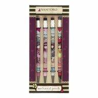 Santoro Gorjuss - Set 4 creioane mecanice