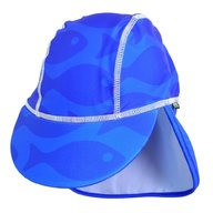 Swimpy - Sapca Fish blue , protectie UV , 4-8 ani
