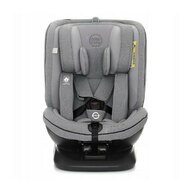 Coto Baby - Scaun auto Baby Hevelius 360 Melange Spatar reglabil, Protectie laterala, Rotire 360 grade, 0-36 Kg, cu Isofix, Gri