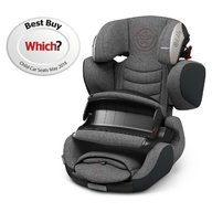 Kiddy - Scaun auto Guardianfix 3 , cu Isofix, Grey Melange Hot Red