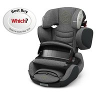 Kiddy - Scaun auto Guardianfix 3 , cu Isofix, Grey Melange Super Green