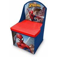 SunCity - Scaun pliabil cu spatar si spatiu depozitare Spiderman