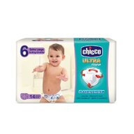 Chicco - Scutece  Ultra Fit & Fun Extra Large, nr.6, 16-30kg, 14buc