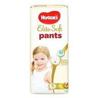 Huggies - Elite Soft Pants XL(5) Mega 38 buc, 12-17 kg