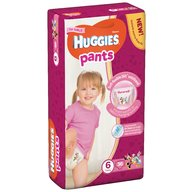 Scutece-chilotel Huggies Mega Pants (nr 6) Girl 36 buc, 15-25 kg