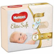 Huggies - Elite Soft (nr 2) Convi 24 buc, 4-6 kg