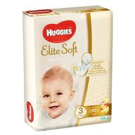Huggies New Elite Soft (nr 3) Mega 80 buc, 5- 9 kg