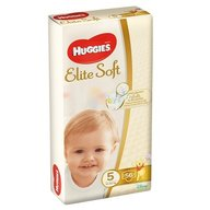 Huggies - Elite Soft (nr 5) Mega 56 buc, 12-22 kg