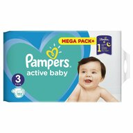 Pampers - Scutece Active Baby 3 Junior, Mega Box, 152 buc