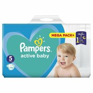 Pampers - Scutece Active Baby 5, Mega Box, 110 buc