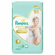 Pampers - Scutece Premium Care Pants 4, Mega Box, 58 buc