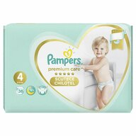 Pampers - Scutece Premium Care Pants 4, Value Pack, 38 buc