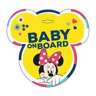Seven - Semn de avertizare Baby on Board Minnie