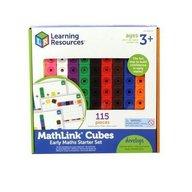 Learning Resources - Set 100 piese MathLink cu carduri pentru incepatori