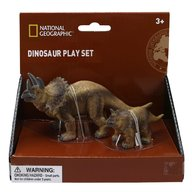 National Geographic - Set 2 figurine, Triceratops