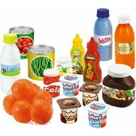 Otto - Set de alimente , 20 piese, Cu conserve din Plastic