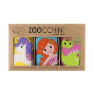 ZOOCCHINI - Set Chilotei Antrenament fetita 3 buc, Din 100% Bumbac organic Magic, Scutec textil
