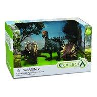 Collecta - Set 3 figurine Dinozauri pictate manual