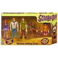 Scooby Doo - Set 5 figurine Echipa Misterelor 13 cm