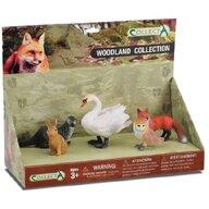 Collecta - Set 5 figurine Animale din padure pictate manual LPP