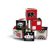 Miniland - Jucarie cu activitati Set 6 cuburi educationale