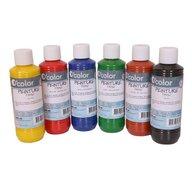 OColor - Acuarele 6 culori, Pentru pictura pe materiale textile